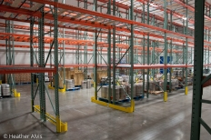 Warehouse Refrigerator - On Site Commercial Photography