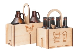 Wood Tote Product Photography - Bellingham, WA