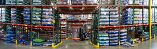 Commercial Photography - On Site Warehouse