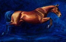 Art Copy Sample of Horses by Kimry in Bend, OR