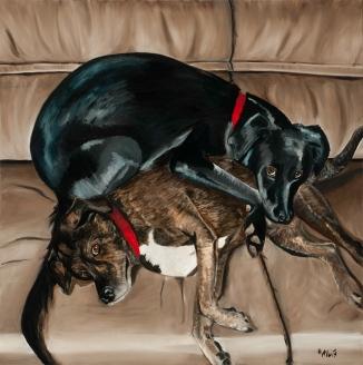 Alpha Dog Underneath by Heather Alvis