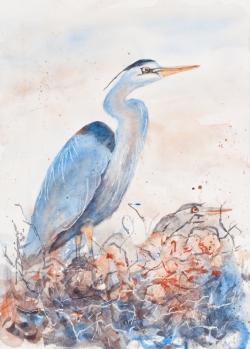 Art reproduction sample of artwork by Arlene Moritmer, Bellingham, WA